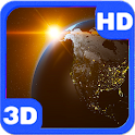 Revolving Earth Space Scenery icon