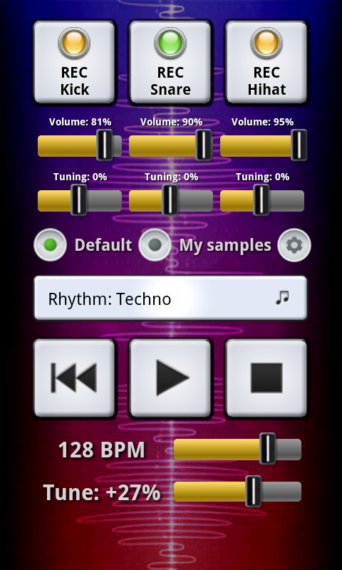 My BeatBox - screenshot