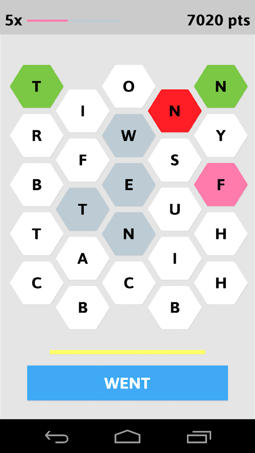 Word Hive - screenshot