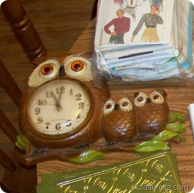 owl clock before