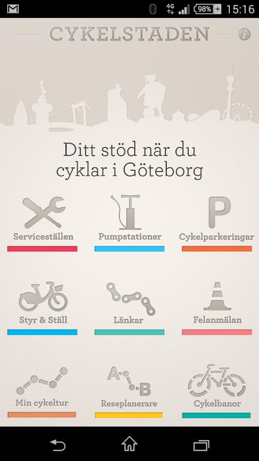 Cykelstaden - screenshot