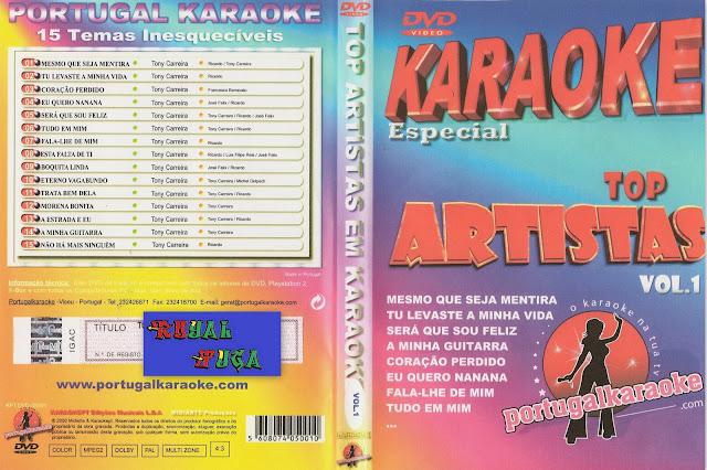 O Amor Da Sua Vida Sou Eu Karaoke 01: Top Artistas Em Karaoke