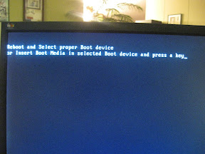 Hard Drive Not Detected at Initial Boot