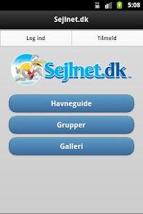 Sejlnet- screenshot thumbnail