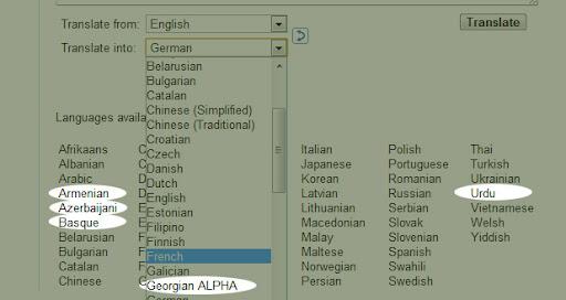 5 neue Sprachen
