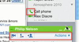 Konfernzen und Telefonieren via Google Mail