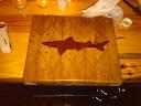 Dogfish cutting board