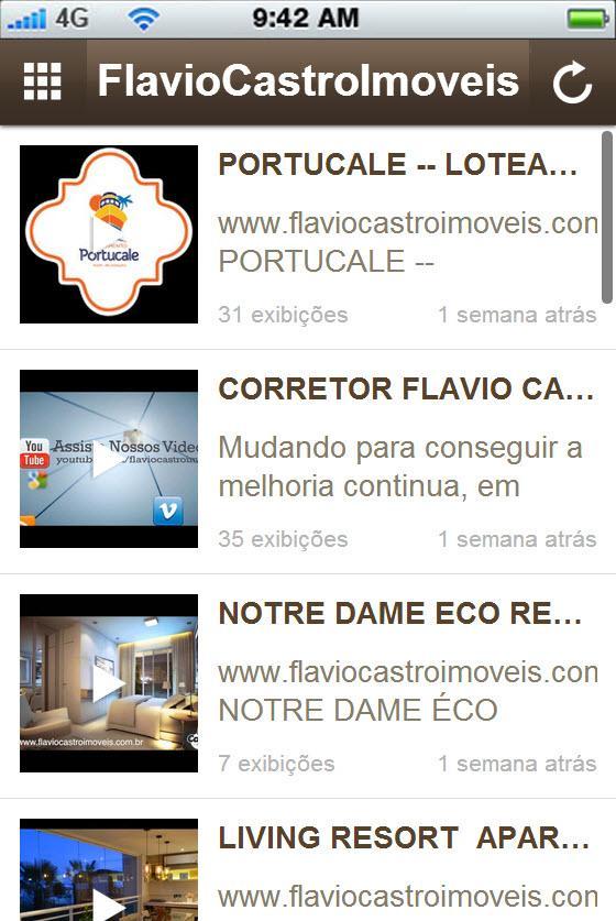 Flaviocastroimoveis - screenshot