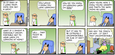 Dilbert comic strip for 12 16 2001 from the official Dilbert comic strips archive.
