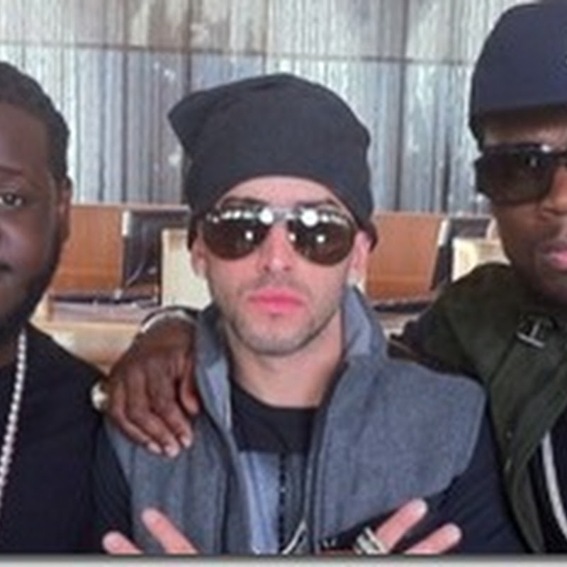 Wisin & Yandel graban nuevo video con T-Pain y 50 Cent