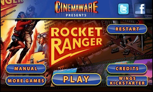 Rocket Ranger - screenshot thumbnail