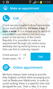 Medicover Czech- screenshot thumbnail