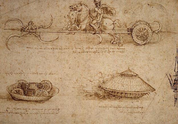 Leonardo da Vinci tank