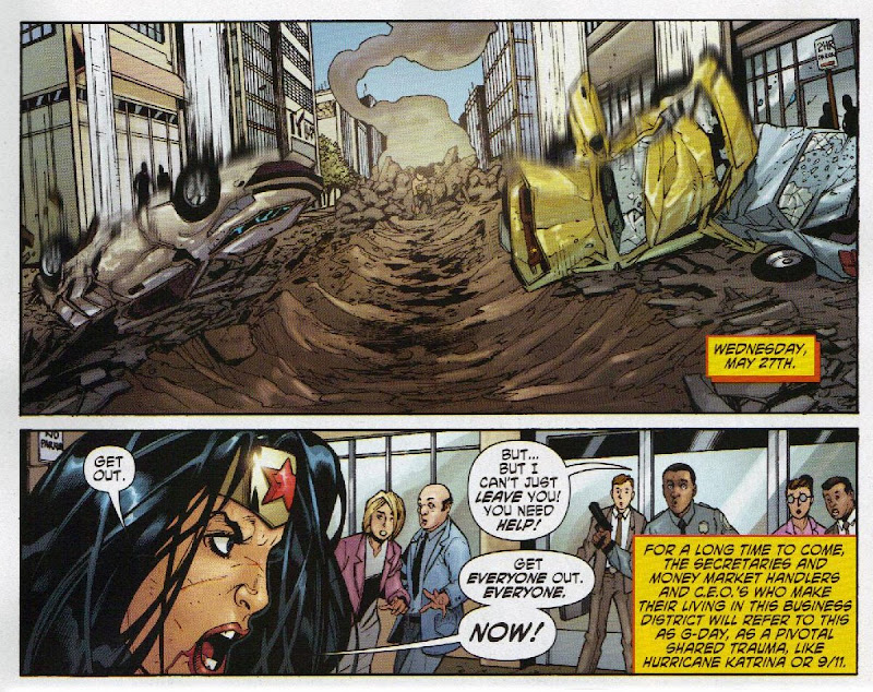 Wonder Woman #32 Rise of the Olympian: Diana fights Genocide in New York