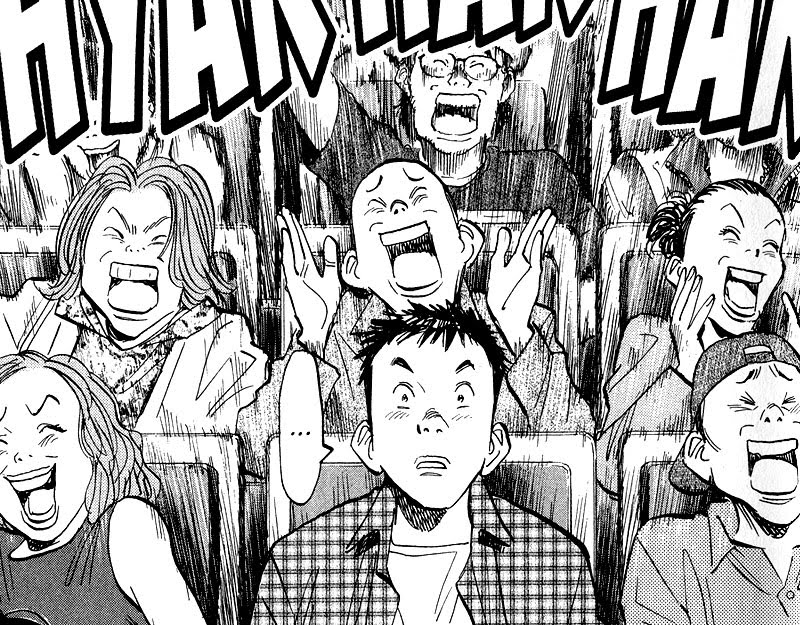 Kenji is confused at the Friends Concert 20th Century Boys