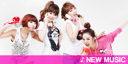 New music: 2NE1 - Try to copy me
