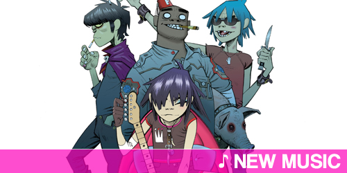 New music: Gorillaz featuring Gruff Rhys and De La Soul - Superfast jellyfish