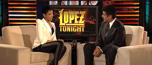 Monica on 'Lopez tonight'