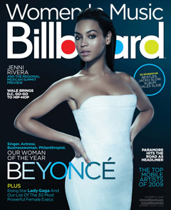 Beyoncé is Billboard's woman of the year