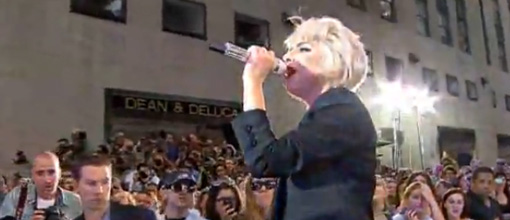 Lady Gaga performs songs off of 'The fame monster' at The Today show | Live performance