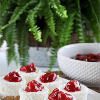 No Bake Cherry Cheesecake.