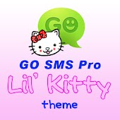 GO SMS Pro Lil' Kitty theme