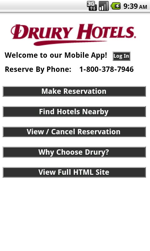 Drury Hotels- screenshot