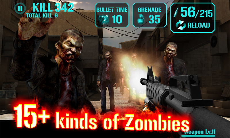 GUN ZOMBIE : HELLGATE - screenshot