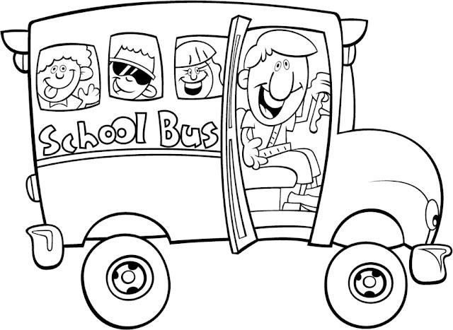 Dibujos Del Colegio Para Colorear