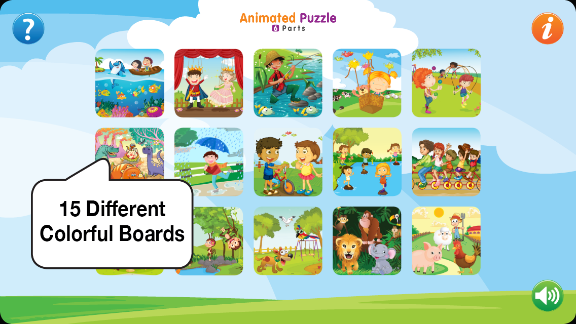 Animated Puzzle 2- screenshot