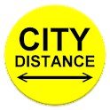 City Distance Full icon