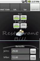 Screenshot of Pay Ur Restaurant Bill Ads