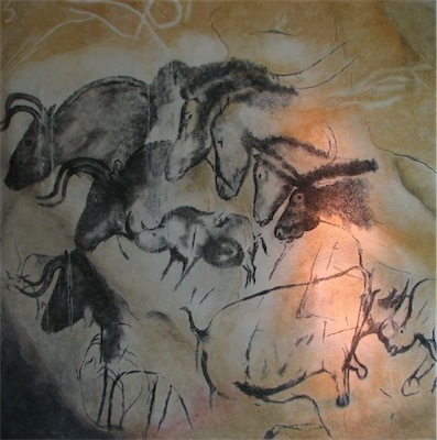 594px Chauvet cave paintings 1