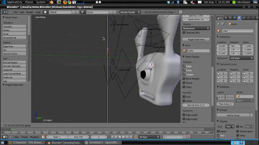 Custom Shape Rig Blender 2.53 Beta 2