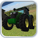 Tractor Parking 3D icon