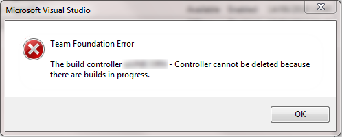 Can't Delete Build Controller