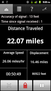 GPS Odometer - screenshot thumbnail