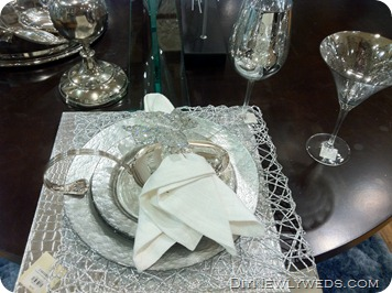 Silver Table Setting Z Gallerie