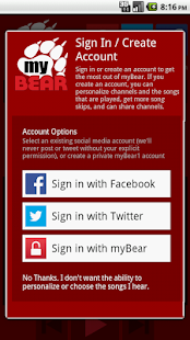 myBear 98.9 The Bear- screenshot thumbnail