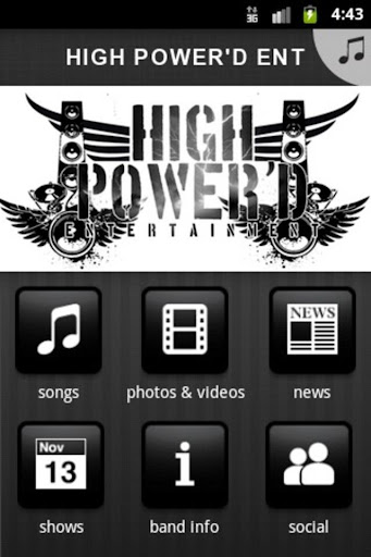 【免費音樂App】HIGH POWER'D ENT-APP點子