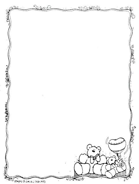Bonitas Cartas Infantiles Para Colorear Y Escribir