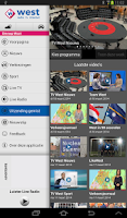 Screenshot of Omroep West Tablet