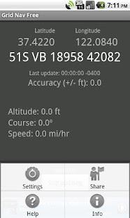 Grid Nav Free MGRS Utility- screenshot thumbnail