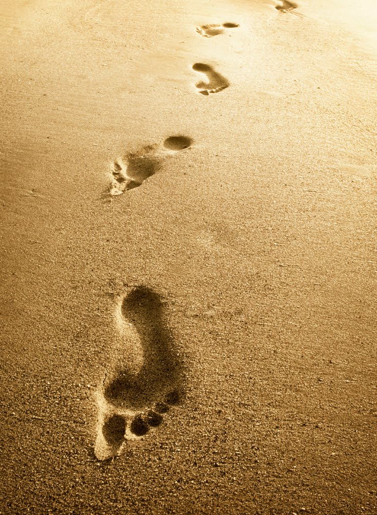 Footprints In The Sand Quote Quotes Links