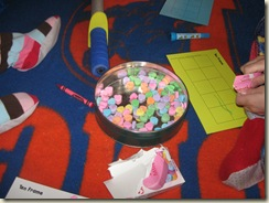 preschool valentine's day graphing