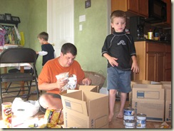 family discipleship teaching kids to give