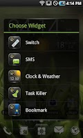 Screenshot of EZ Task Manager Widget