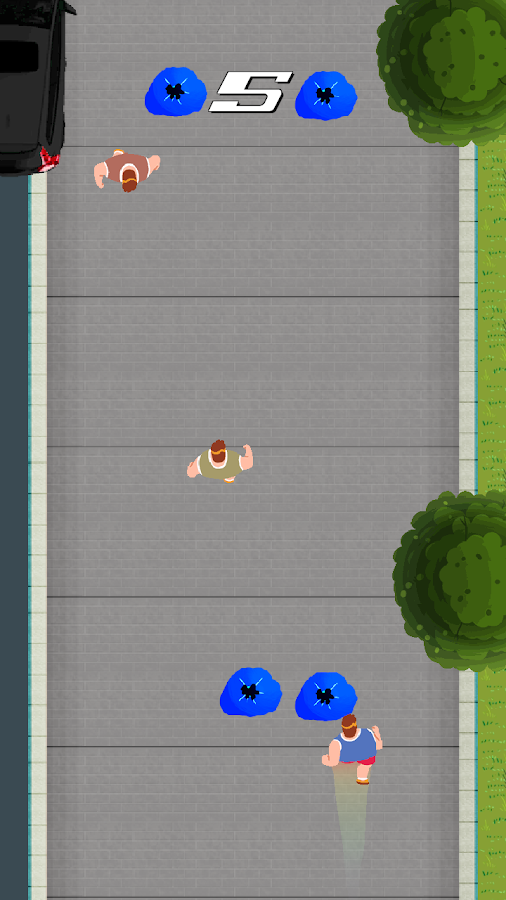 Sidewalk Runner- screenshot