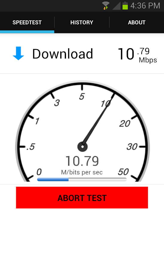 Speed Test - Internet- screenshot