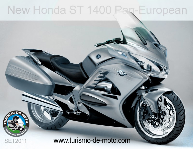 nova honda st 1400 pan european turismo de moto. Black Bedroom Furniture Sets. Home Design Ideas